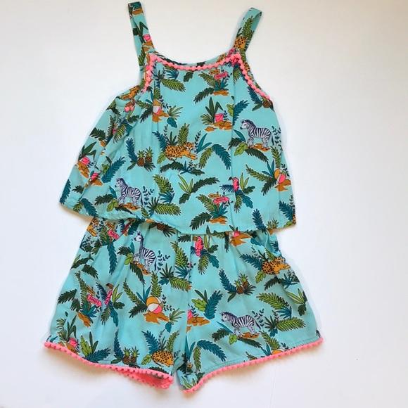 37c79cf1516e0 Cherokee Dresses | Summer Romper Jungle 4t Pockets Target | Poshmark